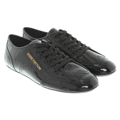 Louis Vuitton Veterschoenen patent leather