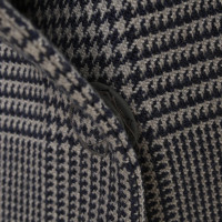 Armani Jeans Blazer mit Vichy-Muster