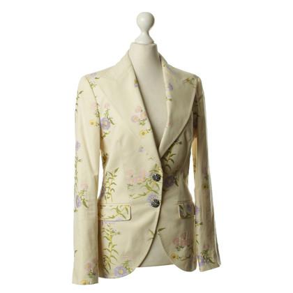 Dolce & Gabbana Blazer con un motivo floreale