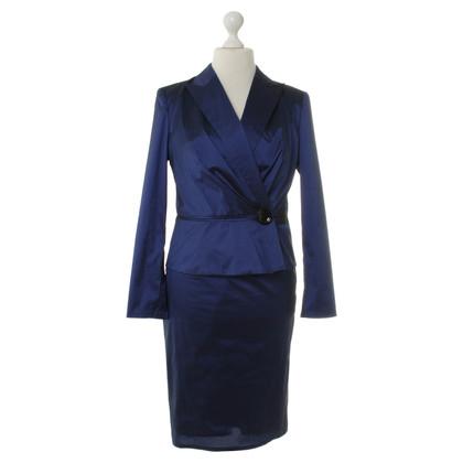 Talbot Runhof Costume in Midnight Blue