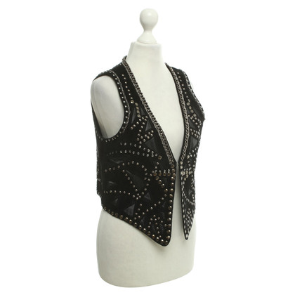 Other Designer Milestone suede vest