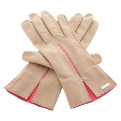 Escada Leather gloves