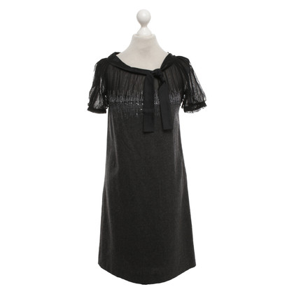 Alberta Ferretti Dress in grey / black