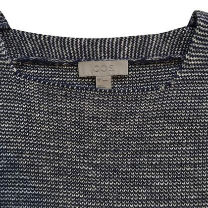 Cos Wollen trui met vierkante hals