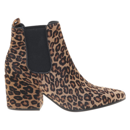 Kennel & Schmenger Ankle boots with animal print