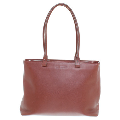 Jil Sander Brown handbag
