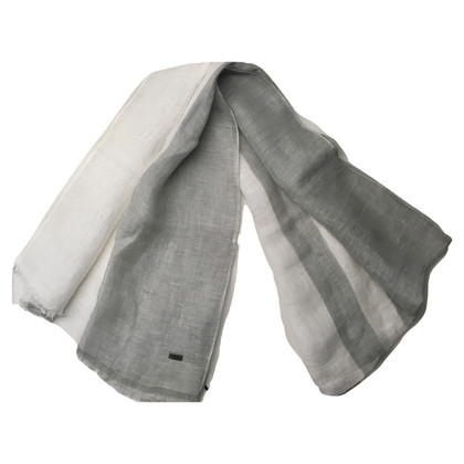 Hugo Boss Scarf made of linen