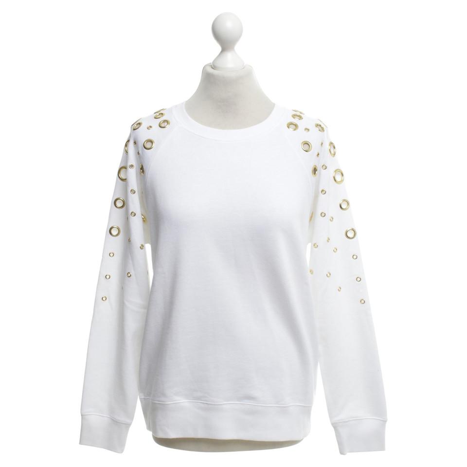 michael kors sweatshirt mit applikation second hand michael kors sweatshirt mit applikation. Black Bedroom Furniture Sets. Home Design Ideas