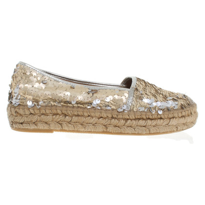 Patrizia Pepe Espadrilles with reversible sequins