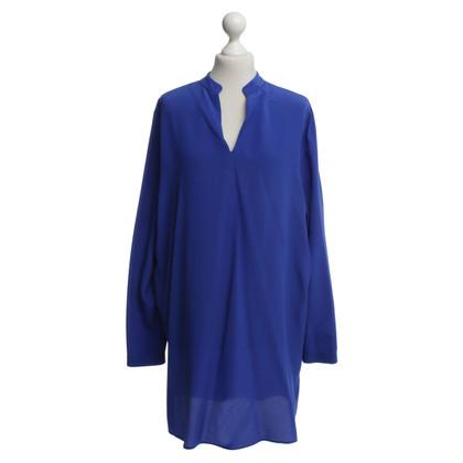 Etro Silk blouse in royal blue
