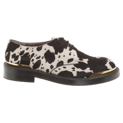 Marni Lace-up shoes in black / white
