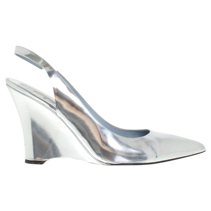 Schumacher Patent leather wedges