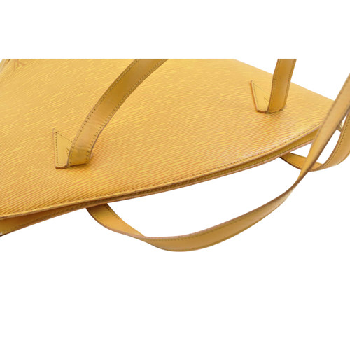 7f8024410330 Louis Vuitton Saint Jacques made of Epi leather in yellow - Second ...