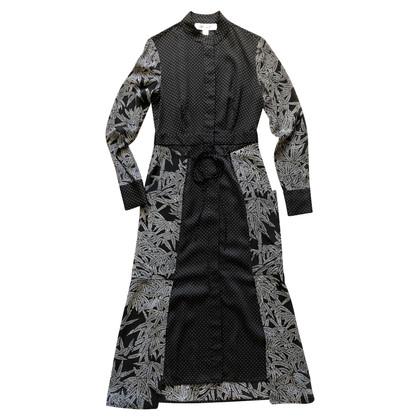 Diane von Furstenberg Midi zijden jurk