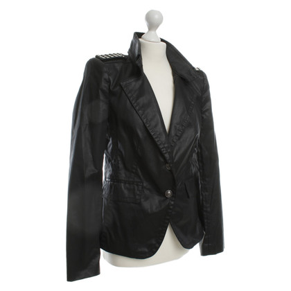 Drykorn Black jacket with studs