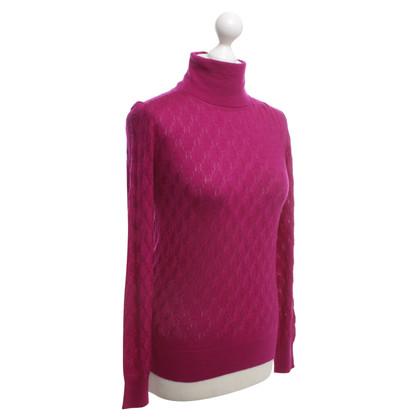 Missoni Sweater in fuchsia