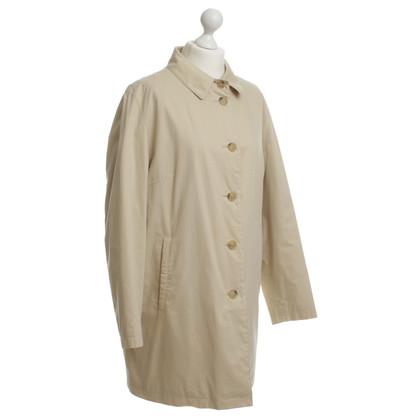 Burberry Gefütterter Mantel in Beige