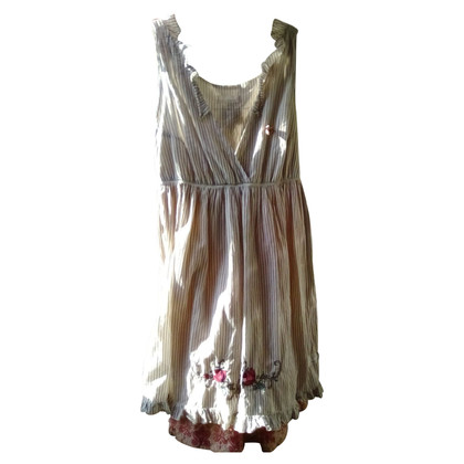 Odd Molly Striped dress with embroidery