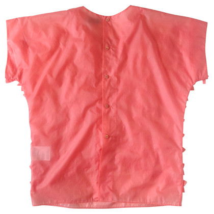 Acne Coral volant top
