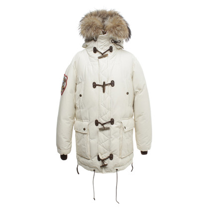 Dsquared2 Down coat with fur trim