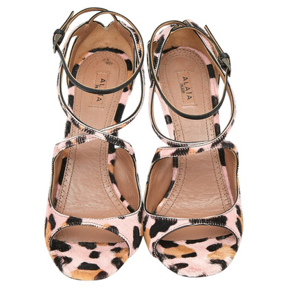 Alaïa Sandals with pattern