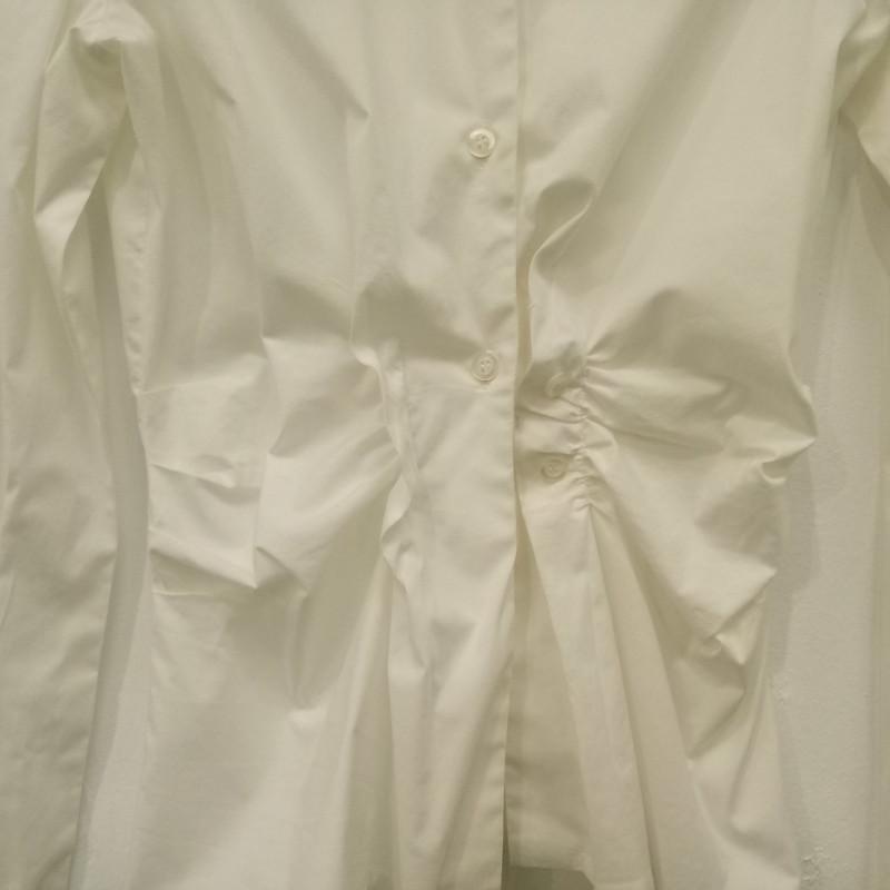 Philosophy di Alberta Ferretti Vestito in Cotone in Bianco