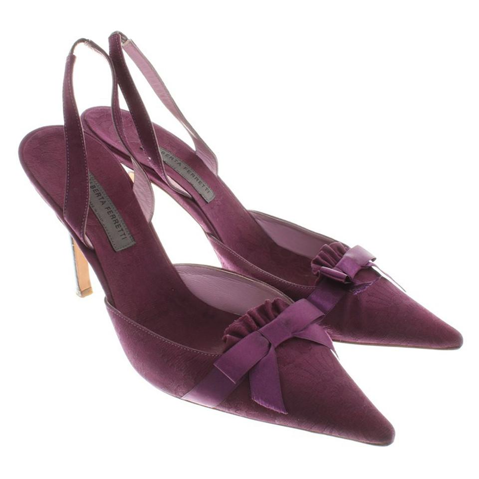 Alberta Ferretti pumps in purple