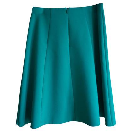 Hugo Boss Hugo Boss vert mi-longueur jupe