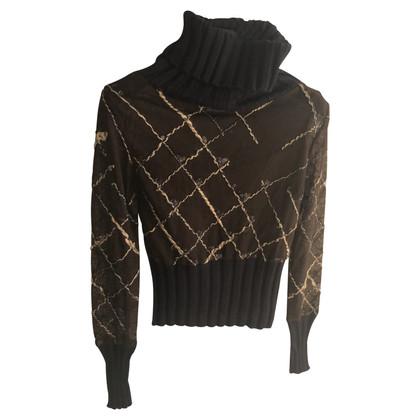 Ferre maglia con lurex trasparente