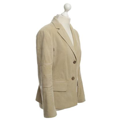 Strenesse Blue Cord Blazer in beige