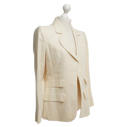 Yves Saint Laurent Blazer in cream
