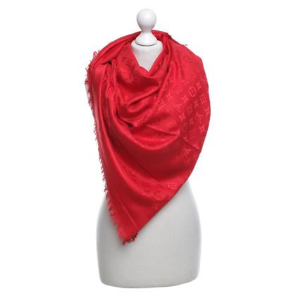 Louis Vuitton Monogram doek in rood
