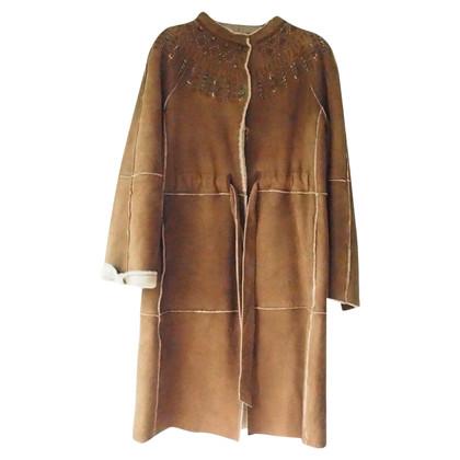 """Alberta Ferretti Sheepskin coat """"Diva"""""""
