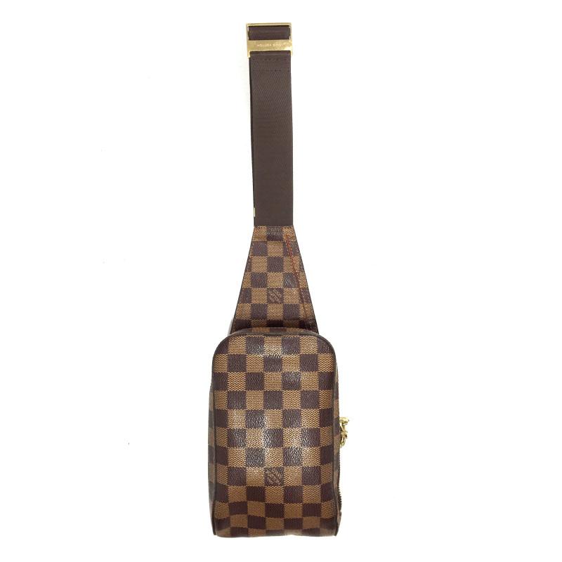 """Louis Vuitton """"Geronimo Damier Ebene Canvas"""""""