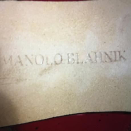 Manolo Bordeaux Sandaletten Blahnik Blahnik Bordeaux Sandaletten Manolo FCwq1CPx8