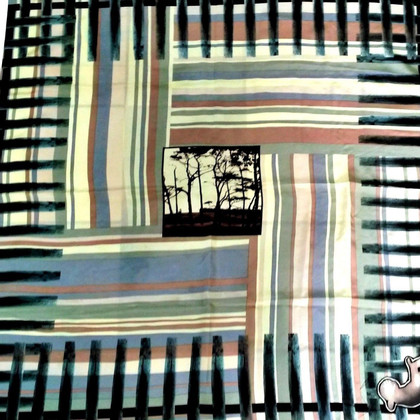 Stella McCartney foulard de soie