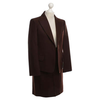 Jil Sander Wool costume in Bordeaux