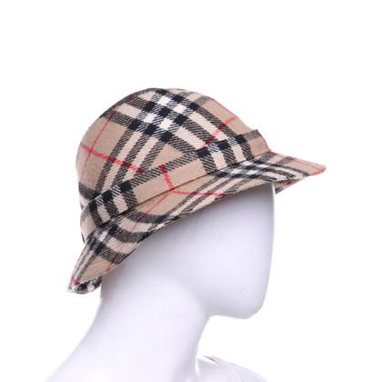 Burberry Cappello in lana con motivo Nova-Check
