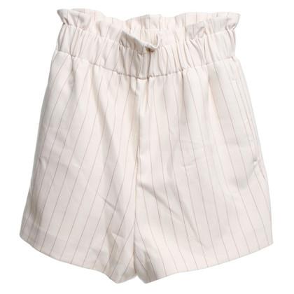 Ganni Shorts avec fines rayures