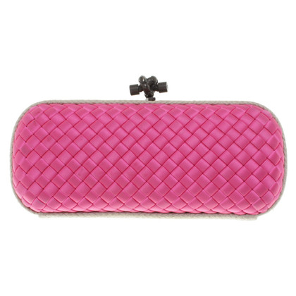 Bottega Veneta clutch in rosa