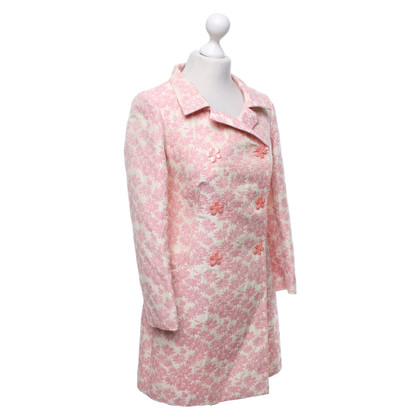 Tara Jarmon Coat with a floral pattern