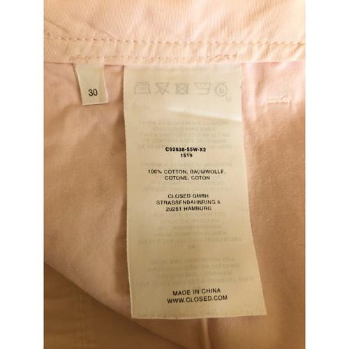 designer fashion e0ba8 6bdd6 Closed Pantaloncini in Cotone in Color carne - Second hand ...