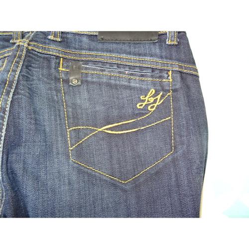 021718993bd Liu Jo Jeans Cotton in Blue - Second Hand Liu Jo Jeans Cotton in ...
