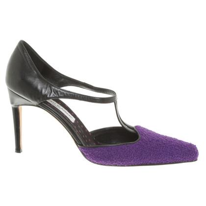 Manolo Blahnik pumps in purple