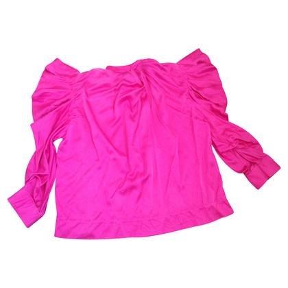 By Malene Birger Blusa in seta rosa