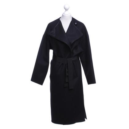 Isabel Marant Oversized coat in black