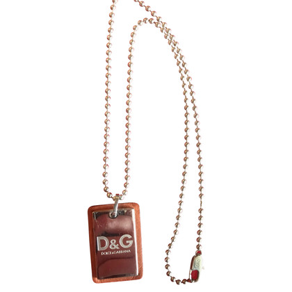 D&G Ketting met dog tag