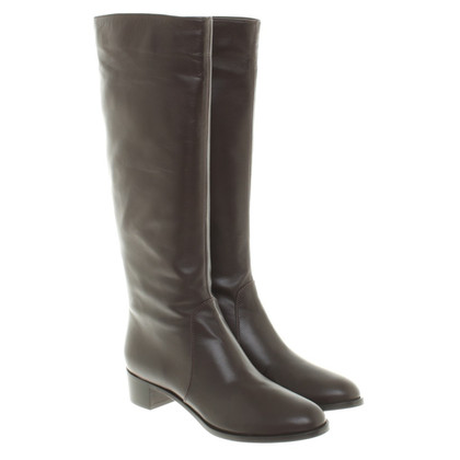 Sergio Rossi Boots in dark brown