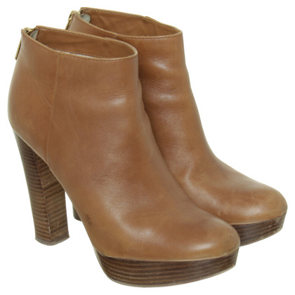 Michael Kors Ankle boots in Cognac