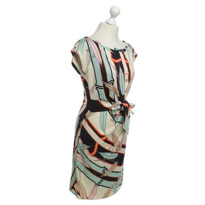 Diane von Furstenberg zijden jurk patroon